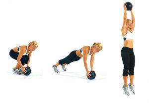 Burpee exercise