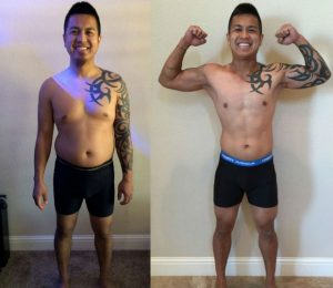 Gerald Andres before and after crossfit