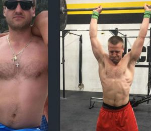 Mathew Waltz before and after crossfit